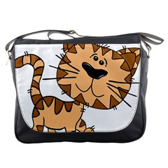 Cats Kittens Animal Cartoon Moving Messenger Bags