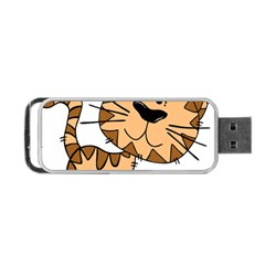 Cats Kittens Animal Cartoon Moving Portable Usb Flash (two Sides)