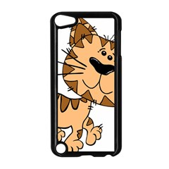 Cats Kittens Animal Cartoon Moving Apple Ipod Touch 5 Case (black)