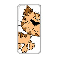 Cats Kittens Animal Cartoon Moving Apple Iphone 5c Seamless Case (white)