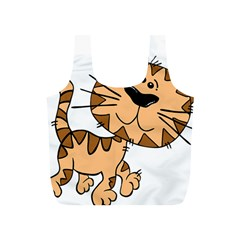 Cats Kittens Animal Cartoon Moving Full Print Recycle Bags (s)