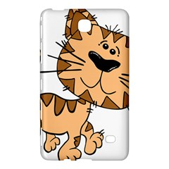 Cats Kittens Animal Cartoon Moving Samsung Galaxy Tab 4 (7 ) Hardshell Case