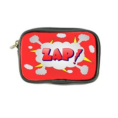 Comic Bubble Popart Cartoon Action Coin Purse