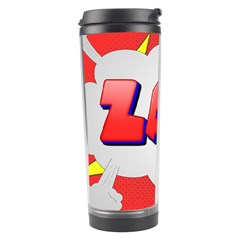 Comic Bubble Popart Cartoon Action Travel Tumbler by Simbadda