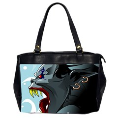 Demon Devil Evil Monster Alien Office Handbags (2 Sides)