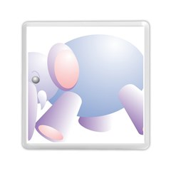 Elephant Memory Card Reader (square)