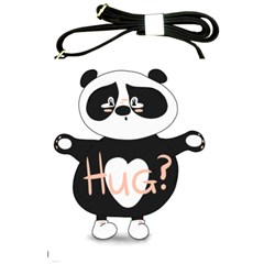 Panda Hug Sorry Cute Cute Bear Shoulder Sling Bags by Simbadda