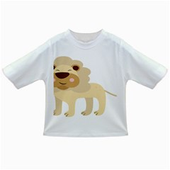 Lion Cute Sketch Funny Infant/toddler T Shirts by Simbadda