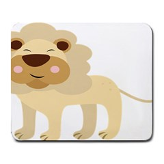 Lion Cute Sketch Funny Large Mousepads by Simbadda