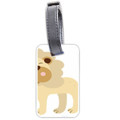 Lion Cute Sketch Funny Luggage Tags (one Side)  by Simbadda
