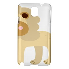 Lion Cute Sketch Funny Samsung Galaxy Note 3 N9005 Hardshell Case by Simbadda