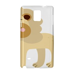 Lion Cute Sketch Funny Samsung Galaxy Note 4 Hardshell Case