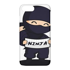 Ninja Baby Parent Cartoon Japan Apple Iphone 8 Plus Hardshell Case