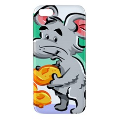 Mouse Cheese Tail Rat Hole Iphone 5s/ Se Premium Hardshell Case