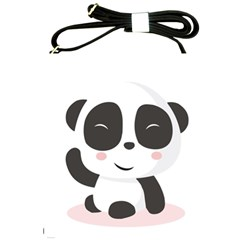 Panda Bear Funny Cute Shoulder Sling Bags by Simbadda