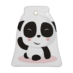 Panda Bear Funny Cute Ornament (bell)