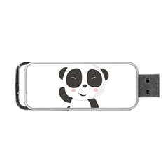 Panda Bear Funny Cute Portable Usb Flash (two Sides)