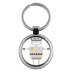 Robot Technology Robotic Animation Key Chains (round)  by Simbadda