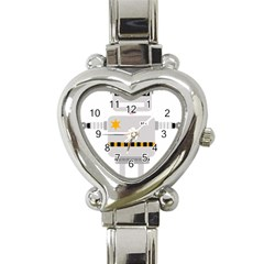 Robot Technology Robotic Animation Heart Italian Charm Watch by Simbadda