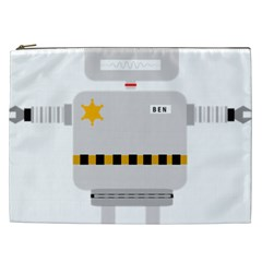 Robot Technology Robotic Animation Cosmetic Bag (xxl)
