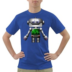 Robot Dark T Shirt by Simbadda