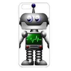 Robot Apple Iphone 5 Seamless Case (white)