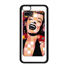 Phone Case Marilyn Monroe Apple Iphone 5c Seamless Case (black) by quirkupstationeryandgifts