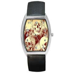 Skullsspooky Bywhacky Barrel Style Metal Watch by bywhacky
