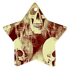 Skullsspooky Bywhacky Star Ornament (two Sides) by bywhacky