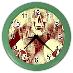 Skullsspooky Bywhacky Color Wall Clocks by bywhacky
