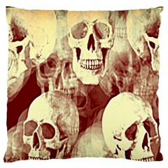 Skullsspooky Bywhacky Standard Flano Cushion Case (two Sides) by bywhacky