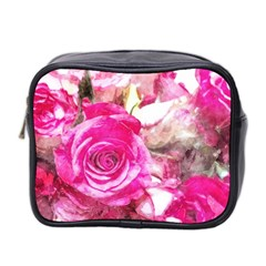Rose Watercolour Bywhacky Mini Toiletries Bag 2 Side by bywhacky