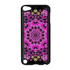 Namaste Decorative Flower Pattern Of Floral Apple Ipod Touch 5 Case (black) by pepitasart