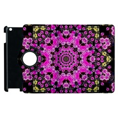 Namaste Decorative Flower Pattern Of Floral Apple Ipad 3/4 Flip 360 Case by pepitasart