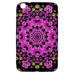 Namaste Decorative Flower Pattern Of Floral Samsung Galaxy Tab 3 (8 ) T3100 Hardshell Case  by pepitasart