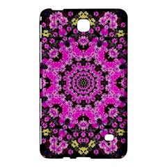 Namaste Decorative Flower Pattern Of Floral Samsung Galaxy Tab 4 (8 ) Hardshell Case  by pepitasart