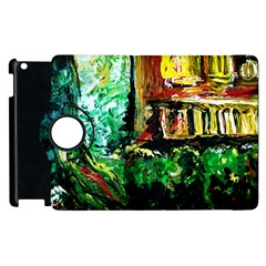 Old Tree And House With An Arch 5 Apple Ipad 2 Flip 360 Case by bestdesignintheworld