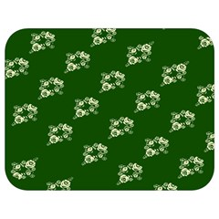 Canal Flowers Cream On Green Bywhacky Full Print Lunch Bag by bywhacky