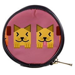 Pet Animal Feline Domestic Animals Mini Makeup Bags by Simbadda
