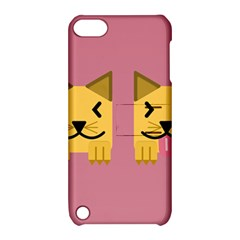Pet Animal Feline Domestic Animals Apple Ipod Touch 5 Hardshell Case With Stand by Simbadda