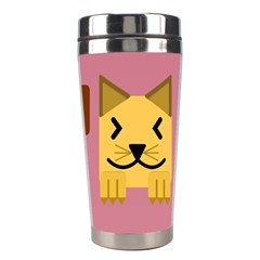 Pet Animal Feline Domestic Animals Stainless Steel Travel Tumblers by Simbadda