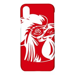 Cock Logo Emblem Symbol France Apple Iphone X Hardshell Case