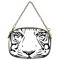 Tiger Pattern Animal Design Flat Chain Purses (two Sides)