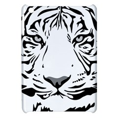 Tiger Pattern Animal Design Flat Apple Ipad Mini Hardshell Case by Simbadda