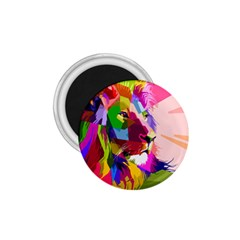 Animal Colorful Decoration Lion 1 75  Magnets