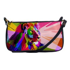 Animal Colorful Decoration Lion Shoulder Clutch Bags