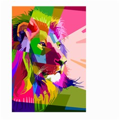 Animal Colorful Decoration Lion Large Garden Flag (two Sides)