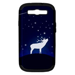 Design Painting Sky Moon Nature Samsung Galaxy S Iii Hardshell Case (pc+silicone)
