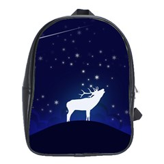 Design Painting Sky Moon Nature School Bag (xl)