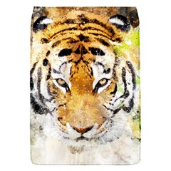 Tiger Watercolor Colorful Animal Flap Covers (s)